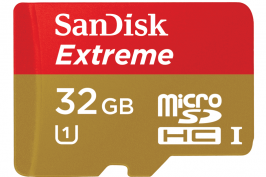 Sandisk microSD Extreme 32gb clase 10