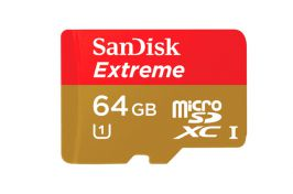 Sandisk microSD Extreme 64gb clase 10